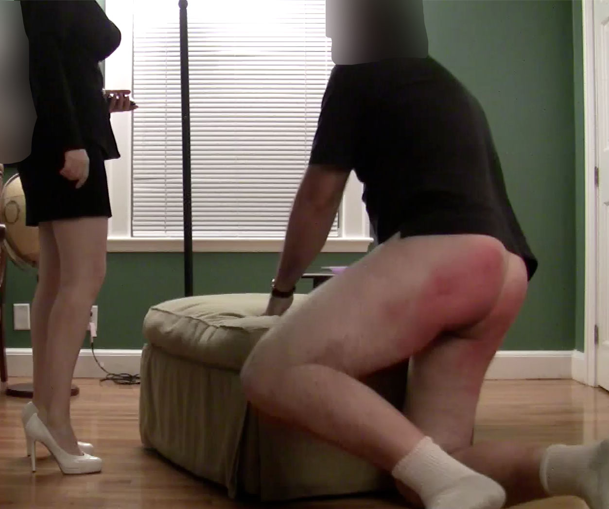 Figged and spanked